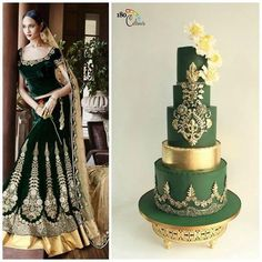Elegant Indian Fashion Cake Collaboration Part 2 by Joonie Tan