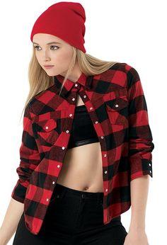 Buffalo Plaid Flannel Dance Shirt | Urban Groove®