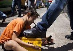Mas de 21 millones de niños realizan labores para adultos en México. (Foto Prensa Libre: Hemeroteca PL)