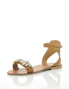 Miss KG Debbie Leather Sandals   BANK Fashion
