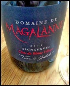 El Alma del Vino.: Domaine de Magalanne Terre de Galets Signargues 2012.