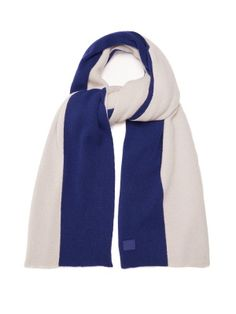 Click here to buy Acne Studios Nabil colour-block wool scarf at  MATCHESFASHION.COM 01000d91c5c