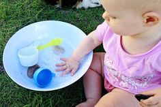 baby games- starting out with water play simple yet fun @nativesoul79