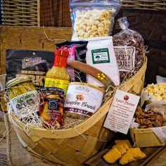 Gentlemans Basket Gift Basket from Lucy's Market