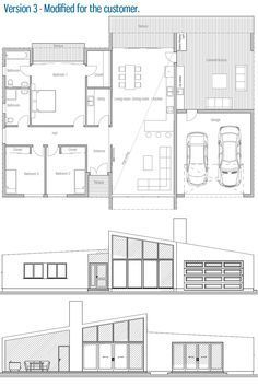 Modified For The Customer Small House Plans Family House Plans House Plans
