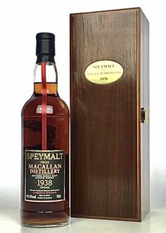 Macallan 1938 - 65 Year Old Speymalt Sherry Cask Best Rye Whiskey, Scotch Whiskey, Bourbon Whiskey, Macallan Whisky, Champagne, Single Malt Whisky, Wine And Spirits, Distillery, Whiskey Bottle