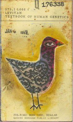 library bird