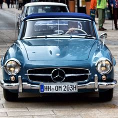 Beautiful Mercedes Benz #190SL. Photo by instagram.com/cars.ch. For all your Mercedes Benz #190SL restoration needs please visit us at http://www.bruceadams190sl.com. #BruceAdams190SL.
