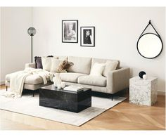 Coffee table Lesley, black marbled Source by QuirineGH The post Lesley coffee table appeared first on The most beatiful home designs. Corner Sofa Living Room Small Spaces, Grey Corner Sofa, Small Couch, Small Living Rooms, Living Room Sofa, Living Room Interior, Home Living Room, Living Room Decor, Beige Couch