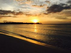 Jamaican Sunset at the Riu Palace Tropical Bay Resort in Negril.  DKM