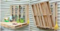 DIY Pallet Gardening Table - http://diytag.com/diy-pallet-gardening-table/