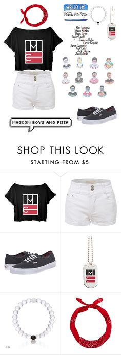 """Missing the old Magcon "" by janie2022 ❤ liked on Polyvore featuring LE3NO, Vans and New Look"
