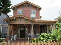 1414 Winnie St, Galveston, TX 77550 The coloring is great, would have gone for a lighter/coral-ly color, but still gorgeous
