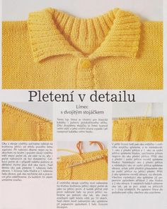 Baby Knitting, Lana, Diy Crafts, Sweaters, Fashion, Tricot, Tips, Sweater Vests, Tejidos