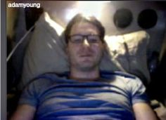 Adam in bed