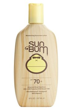 Sun Bum SPF 70 Sunscreen Lotion | Nordstrom  Pick a goooood sunscreen!