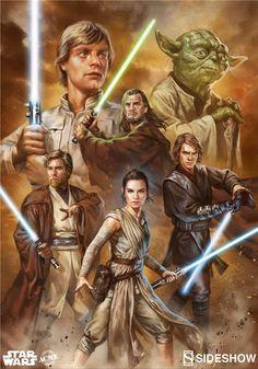 Galaxy Fantasy: Star Wars: La fuerza de la esperanza y la fuerza de la oscuridad