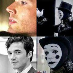 Was EZRA the clown? That really freaks me out for some reason @Kayla Hawkins @Maria Gonzalez