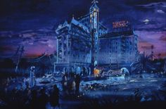 Tower of Terror, Disney's Hollywood Studios, Walt Disney World (early concept)