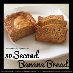Thermos 30 Second Banana Bread (The road to loving my Thermomix) Hot school lunch ideas for kids 30 Great Packed Lunch Ideas for Kids Veggie Mac and Thermomix Bread, Thermomix Desserts, No Bake Desserts, Bellini Recipe, Best Banana Bread, Lunch Snacks, Lunches, Healthy Snacks, Sweet Recipes