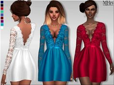 Sims 4 CC's - The Best: Clothing by Margeh-75