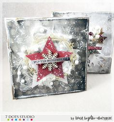Christmas card for 7 Dots Studio - by Kasia Bogatko