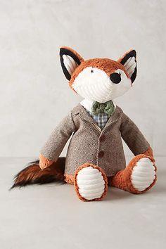 dapper fox family stuffed animals - Gift Guide For Babies Stuffed Animals, Stuffed Fox, Pet Toys, Kids Toys, Bebe Love, Fox Nursery, Baby Boy Nurseries, Handmade Toys, Baby Sleep
