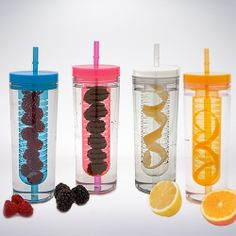 Girlzlyfe.Com - Beverage Infuser Cup - AVAILABLE IN 4 COLORS, $12.99