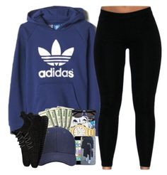 """502 Come Up"" by trvpgirl-a ❤ liked on Polyvore featuring adidas, adidas Originals, women's clothing, women's fashion, women, female, woman, misses and juniors"