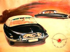 1954 Project for the Tatra T603