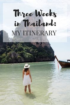 Three Weeks in Thailand: My Itinerary // Click through to read the whole post! http://www.girlxdeparture.com
