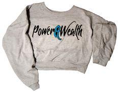 Ladies Power sweatshirt – Power&Wealth