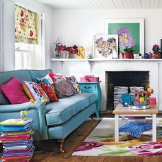 how to make over your living space to be more cheerful