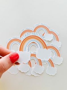 This sticker is vinyl:This sticker is professionally manufactured. It is printed on a white premium adhesive film with a very glossy water-resistant laminate to give these stickers a 2-4 year minimum outdoor life. It also has UV screening on it to protect from weather and sunlight. The best part of all, it is printed on PVC-free film that's environmentally friendly!! This sticker is glossy and great for water bottles, cars, etc! This is the highest quality sticker I provide.Any questions… Happy Stickers, Diy Stickers, Laptop Stickers, New Sticker, Sticker Shop, Sticker Ideas, Sticker Designs, Homemade Stickers, Tumblr Stickers
