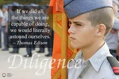 Image result for diligence posters