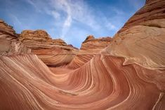 The Wave - Coyote Buttes North Permit and Hiking Information, Images, and Maps The Wave Coyote Buttes, Coyote Buttes North, Yosemite Campgrounds, Utah Hikes, The Wave Arizona, Places To Travel, Places To See, Utah Vacation, Destinations