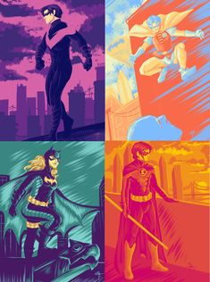 Color Palette by MayhWolf on DeviantArt Nightwing, Batgirl, Stephanie Brown, Tumblr Image, Bat Family, Character Description, Drawing Tools, Live Action, Digital Art