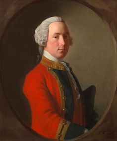 Allan Ramsay ,Portrait of Lieutenant John Abercrombie (d.1758) of the 1st Foot, The Royal Regiment