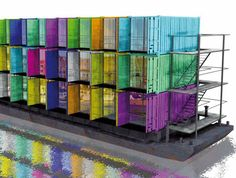 Over 100 Incredible Examples of Cargotecture Exhibited At NRW Forum in Düsseldorf Container Architektur-Hoorn Bridge – Inhabitat - Sustainable Design Innovation, Eco Architecture, Green Building