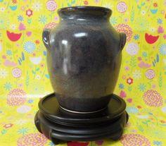Cinque Ports Pottery Lugged Urn Pot Vintage Rye British Studio Pottery