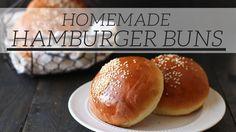 How to Make Burger Buns | Homemade Recipe