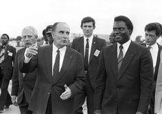 Mitterrand au Rwanda