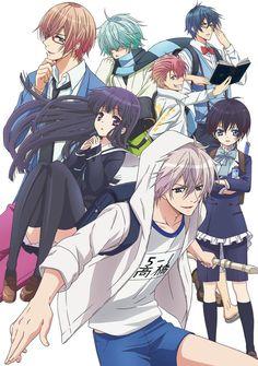 Anunciado reparto adicional del Anime Hatsukoi Monster al aire el 2 de Julio.