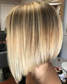 Slanted Lob With Textured Ends