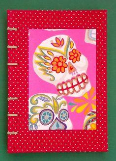Caderno Caveira Mexicana - Querida Clementina - Cadernos Especiais