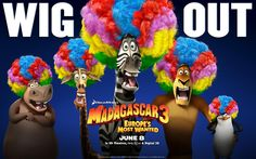We are pretty excited about Madagascar 3! These films have always been good fun and always entertaining. The movie opens on June 8th, 2012 so be on the look for the official Hollywood Apples review!