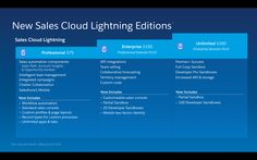 Introducing the #Salesforce Lightning Editions