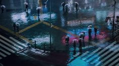 I Got Lost In The Beauty Of Tokyo At Night by Liam Wong(Graphic Design Director at Ubisoft)