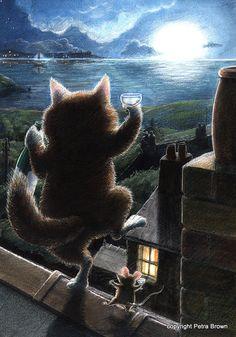by Petra Brown, Children's Book Illustrator (I love celebratory animals)