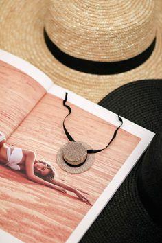DIY boater hat ornament trendy summer cute stylesmorgasbord